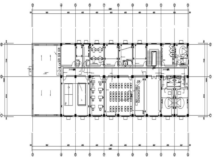 电气望新消防站电气施工图