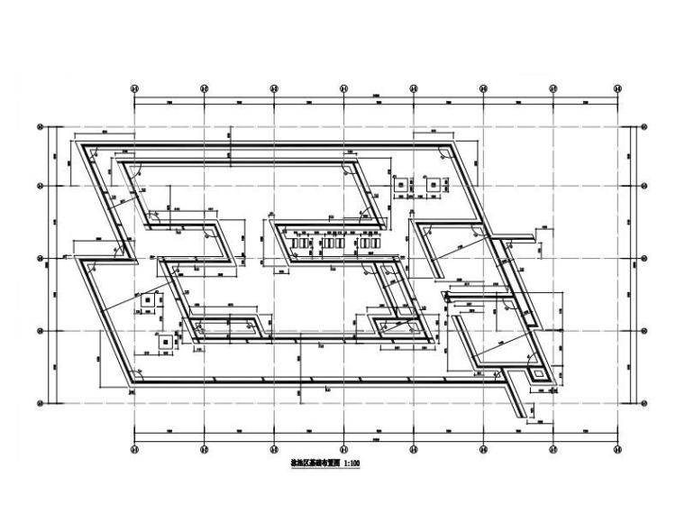 钢筋混凝土游泳池结构施工图2017