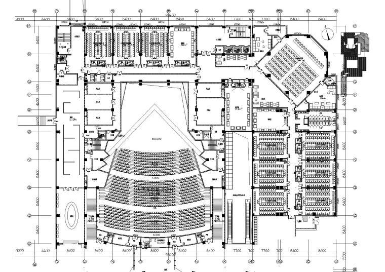 [贵州]中央商务中心办公楼项目装饰施工图