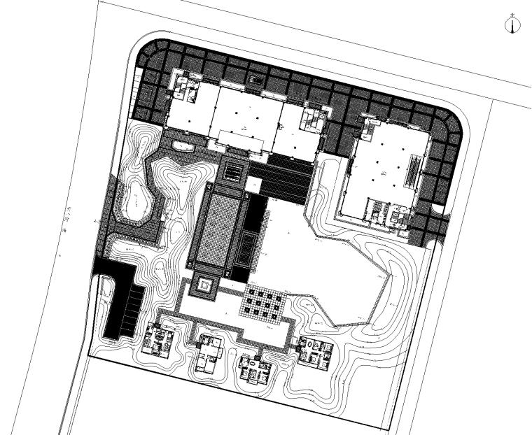 [广东]五矿崇文示范区植物CAD施工图+实景图