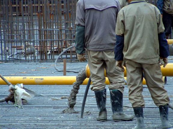 混凝土工程施工工艺流程以及实例照片