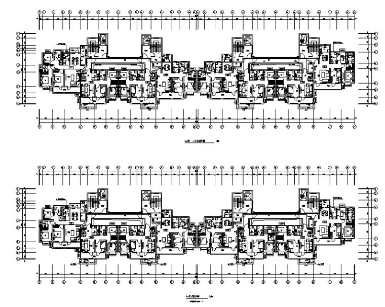 山东老旧社区改造商品住宅电气施工图