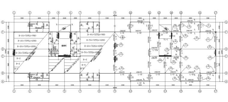 某多层钢结构住宅结构施工图(CAD)