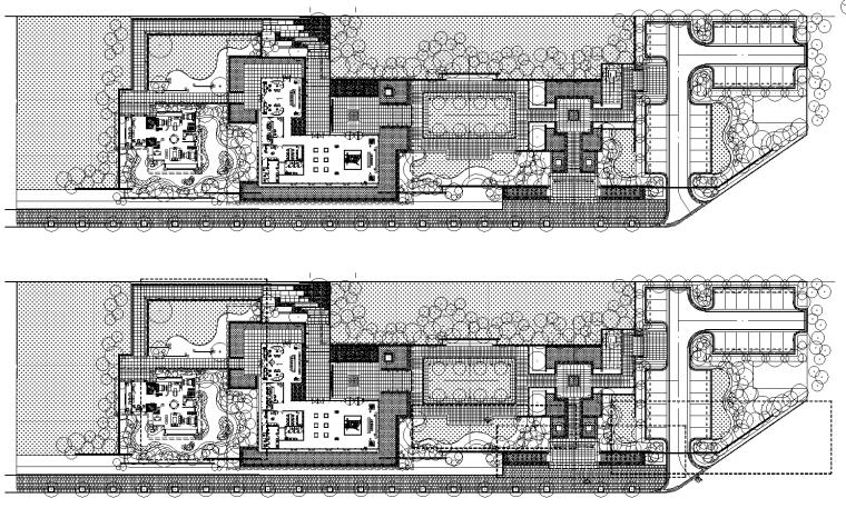 [廣西]金科江湖海示范區植物配置CAD圖+SU