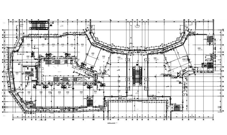 E、H座二层平面图