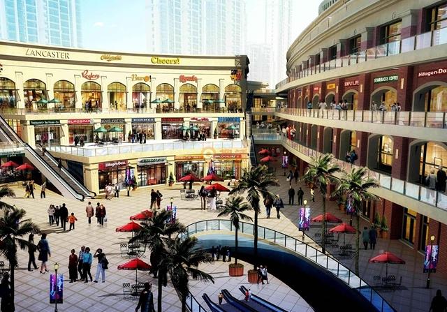 成都万象城购物中心商业空间设计—水木源创