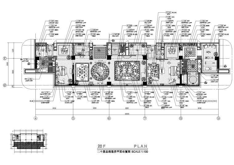 [福州]CCD-長山湖國際酒店總統套房施工圖
