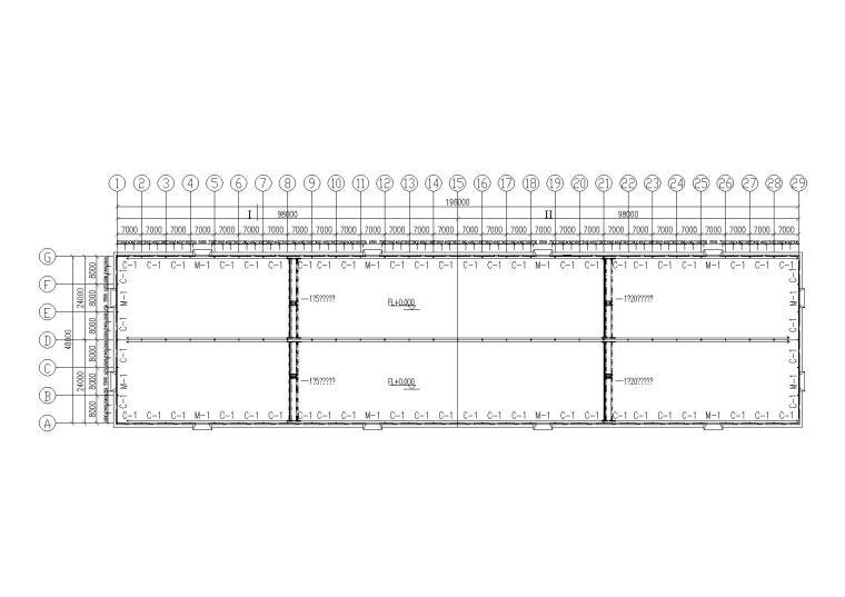 漳州公司轻型门式钢屋架结构施工图