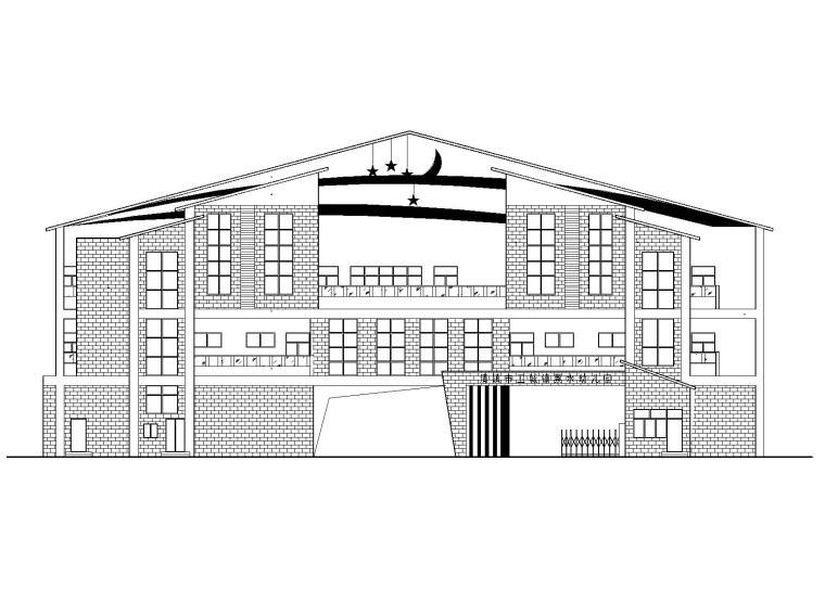 [贵州]蔡水幼儿园建设项目建筑施工图