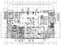 [北京]某五星級商務酒店工程施工圖+效果圖