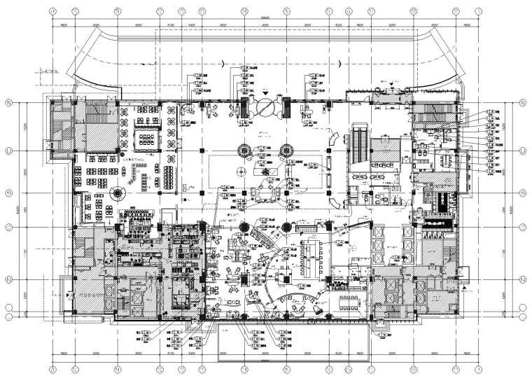 [北京]某五星级商务酒店工程施工图+效果图