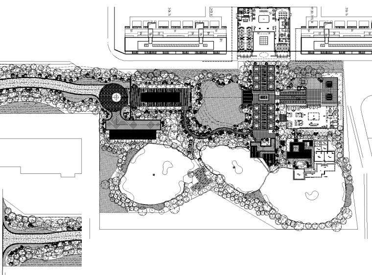 [浙江]融信公馆示范区植物CAD施工图+实景