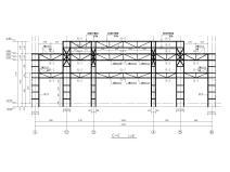 四川某售樓部鋼結構桁架全套施工圖(CAD)