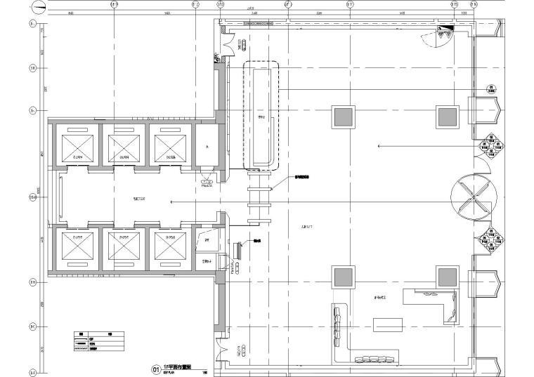 贵州公路工程集团办公大楼装修项目施工图