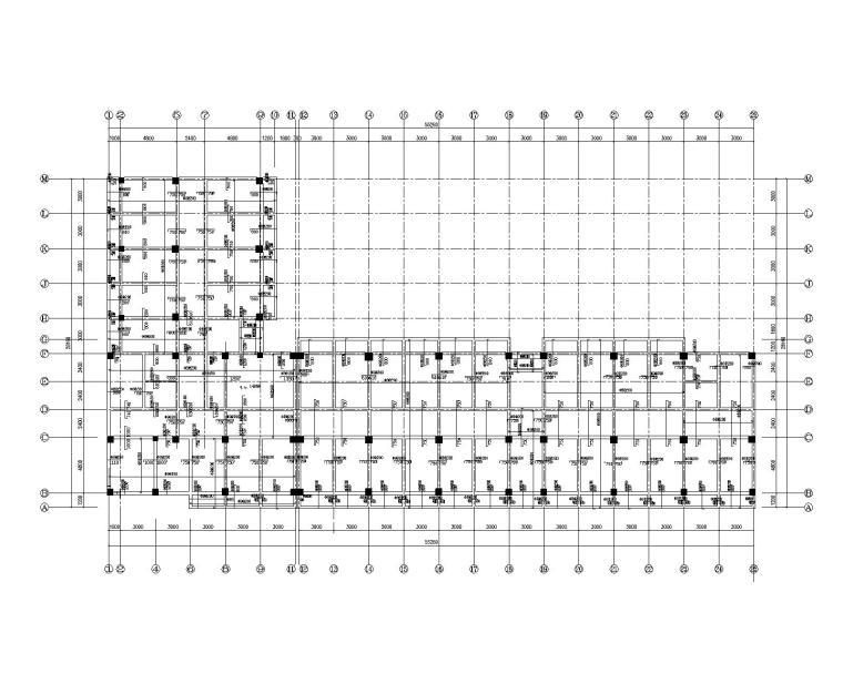某多层住宅混凝土框架结构施工图(CAD)