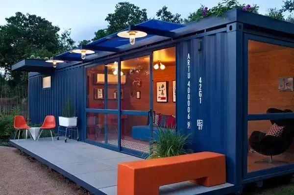集装箱别墅,下一个小庭院潮流?