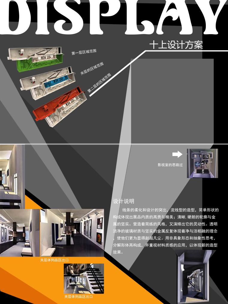 室内环艺专业毕设展板(1)_住宅办公室设计