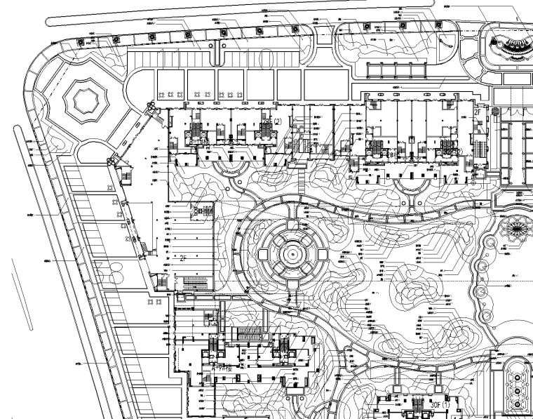 [浙江]绍兴绿城百合花园植物CAD施工图