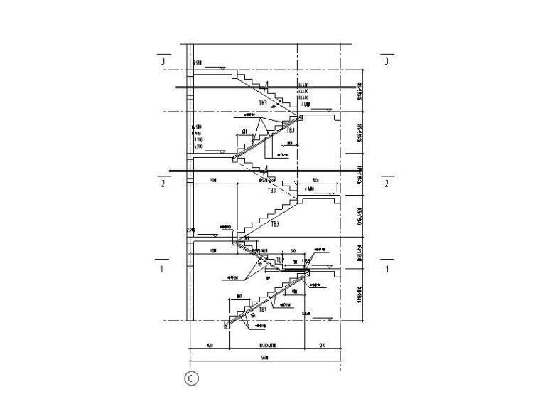 板式楼梯结构配筋图