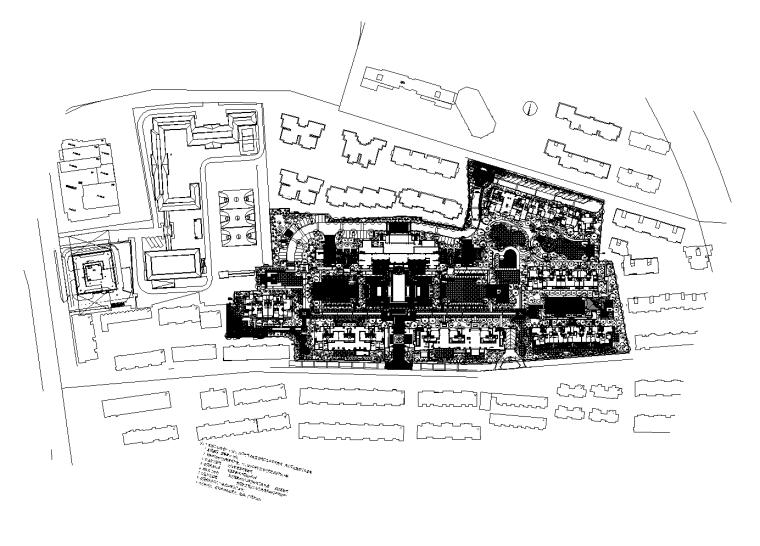 [浙江]杭州绿城新华园居住区植物CAD施工图