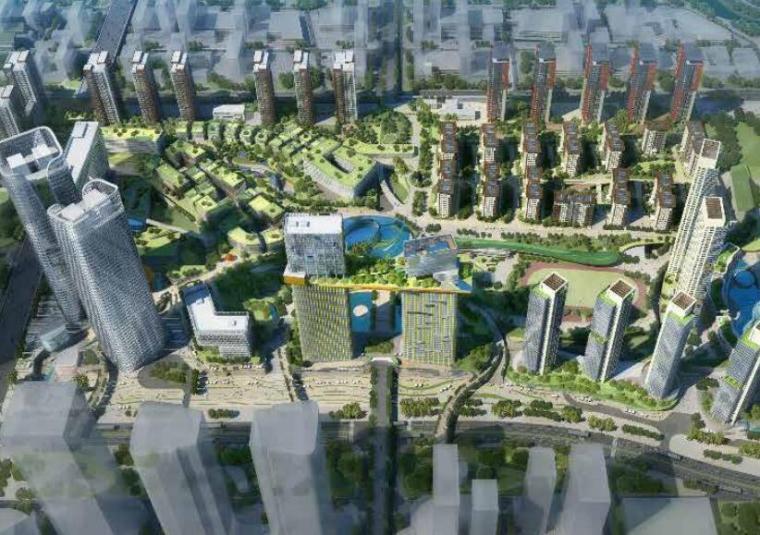 [广东]前海时代空中花园园林景观方案设计