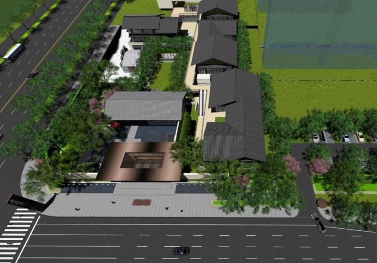[湖南]滨江正荣府住宅示范区景观方案设计