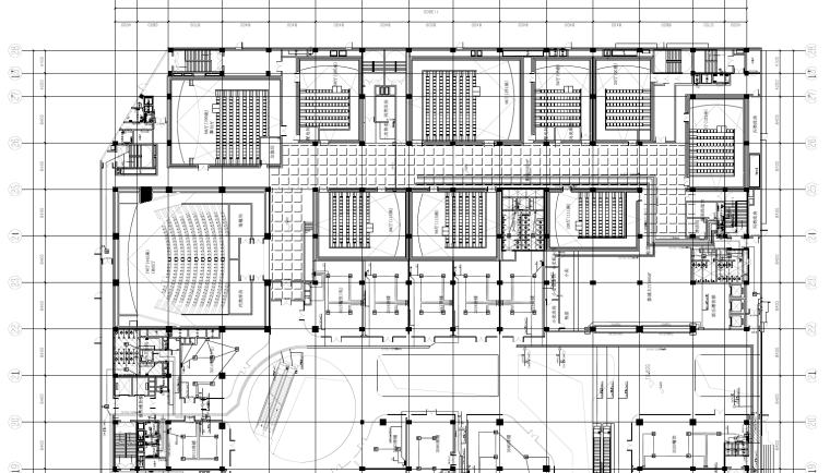 河南某达广场电气专业施工图(含弱电)