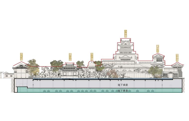 粤剧艺术博物馆三层空间系统