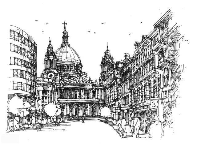 建筑设计手绘的快速表达