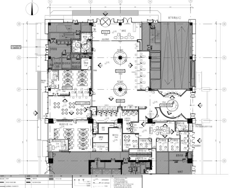 [贵阳]新营业办公大楼室内装饰装修图纸
