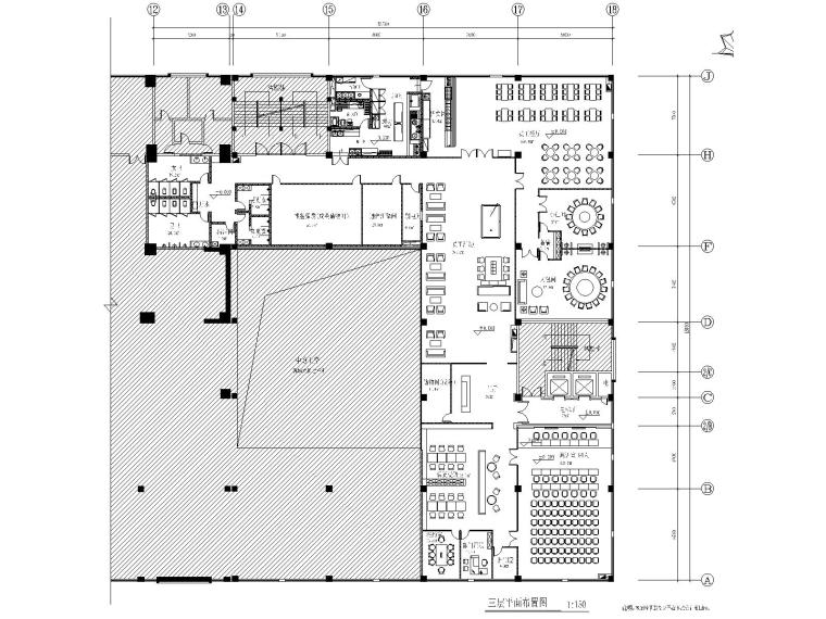 [毕节市]邮储银行营运用房装修改造图纸