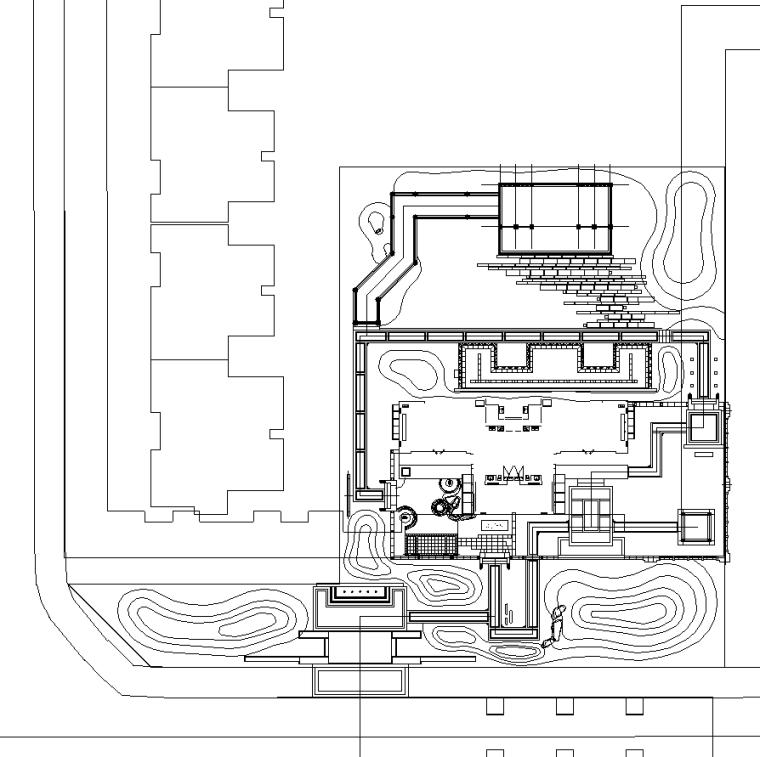 [四川]新中式新亚洲雍锦王府植物CAD施工图