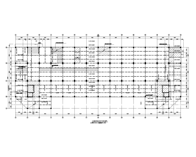 多层框架结构工业厂房拆除加固施工图