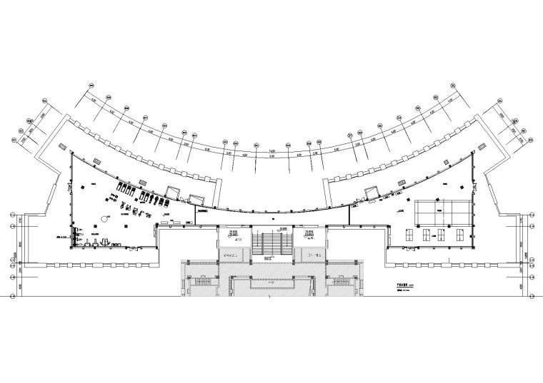 [贵州]润泽楼顶层职工活动中心装修设计图纸