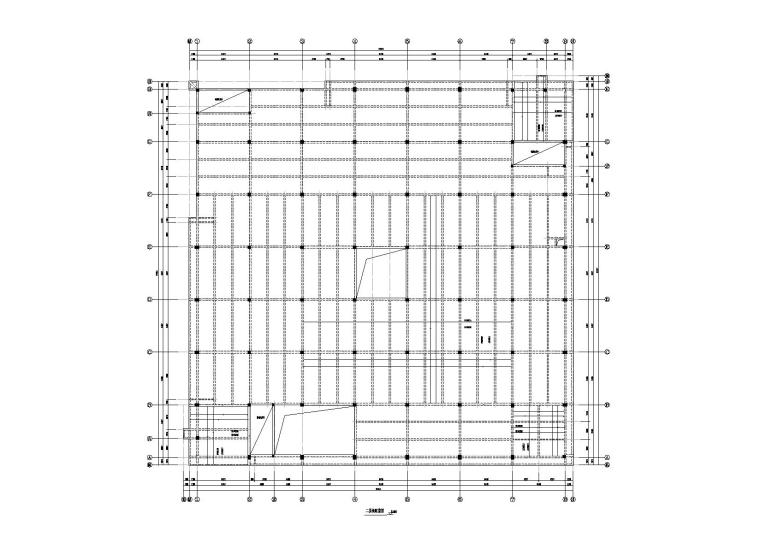 三层框架结构厂房综合楼结构施工图
