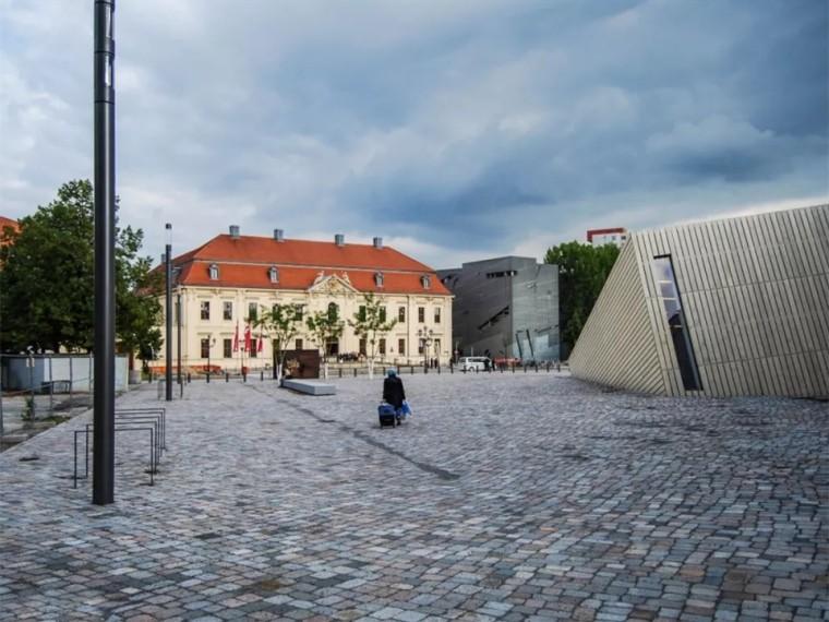 德国柏林犹太人博物馆学院公共空间
