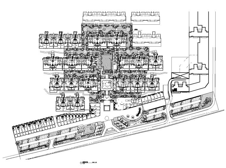 [浙江]杭州泰禾院子示范区植物CAD施工图