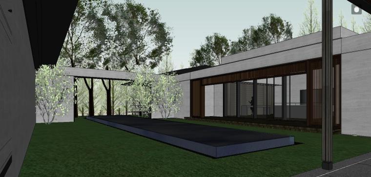 GOA南京绿城桃花源赫餐厅建筑模型