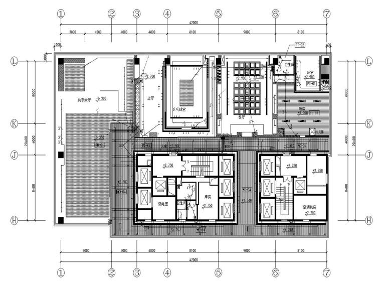 鄂尔多斯茶楼装修水电图.