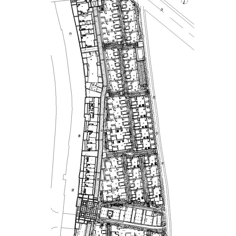 [江苏]南京泰禾院子大区植物配置CAD施工图