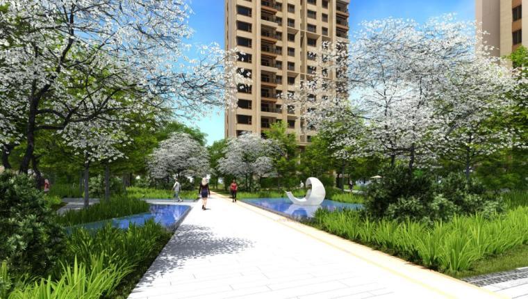 [上海]新城璞樾现代风格住宅国际深化文本