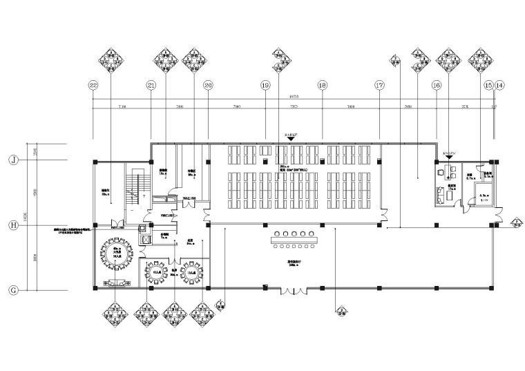 广州西区管委会大楼办公区域装修工程施工图