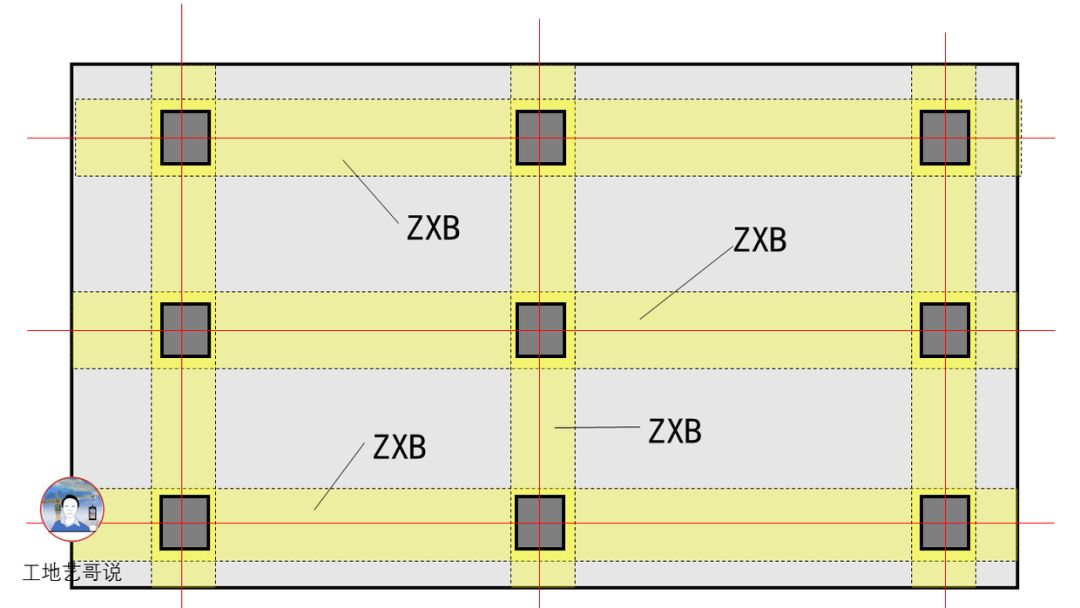 结构钢筋89种构件图解_94