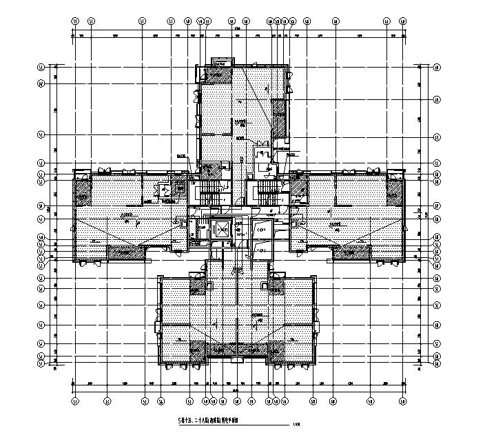 广东超高层住宅及配套建筑电气施工图
