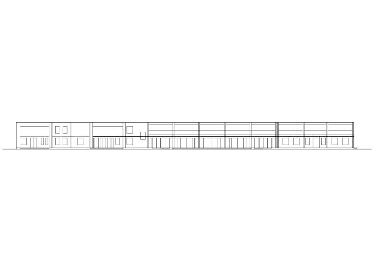 [学生作业2]客运站设计建筑施工图_CAD排版
