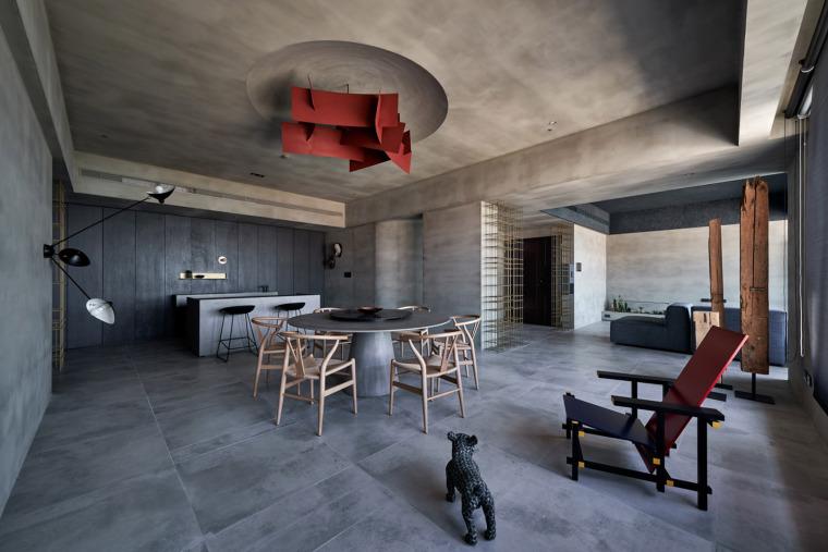 27套工業風住宅室內空間設計案例合集
