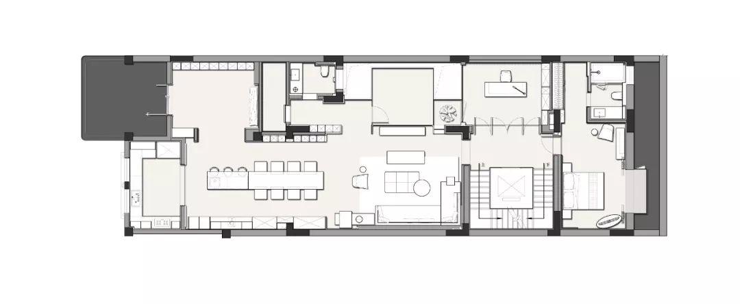 深圳720m²顶级私宅,隐居都市的时光秘境_41