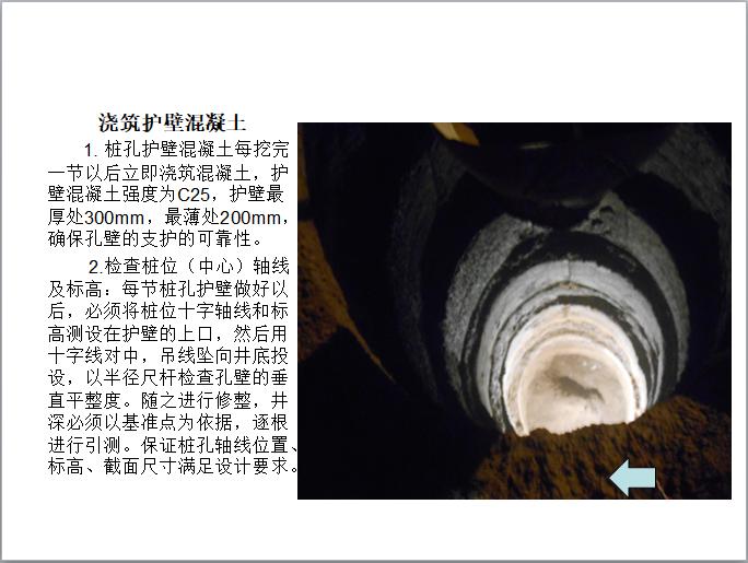 热力工程人工挖孔桩施工工艺