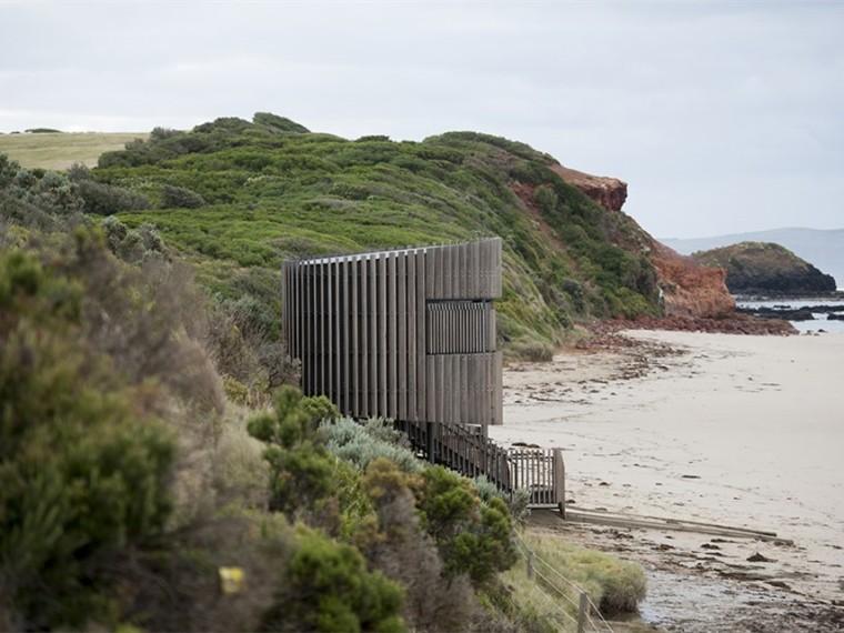 澳大利亚史密斯海滩冲浪救生塔