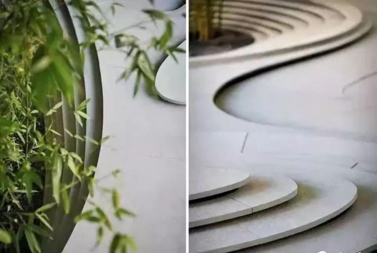 景观设计欣赏:小小庭院,山水之意